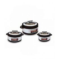 Easy Shop Stainless Steel Hotpot Pack Of 3