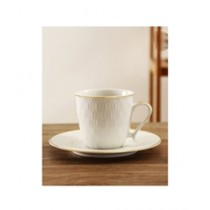 Easy Shop Tea Cup And Saucer 12 Pcs Set (0636)