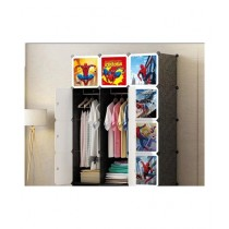 Easy Shop 12 Box Cubes Cupboard For Hanging Wardrobe