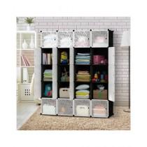 Easy Shop 20 Boxes Plastic Cubes Cupboard