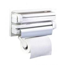 Easy Shop 3 in 1 Triple Paper Dispenser White