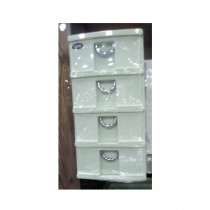 Easy Shop 4 Step Drawer For Dressing Table Green