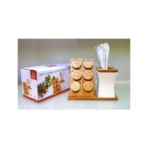 Easy Shop 6 Packs Spice Rack & Spoon Holder Set (0349)