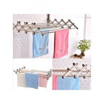 Easy Shop Aluminium Wall Cloth Dryer Stand