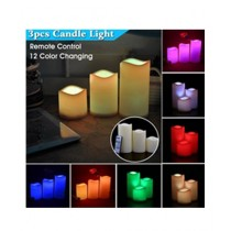 Easy Shop Color Changing LED Candle With Remote Controller