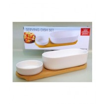 Easy Shop Dip Serving Dish Set White