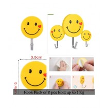 Easy Shop Emoji Style Key Holder Pack of 3