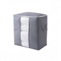 Easy Shop Foldable Laundry Storage Bag Gray
