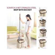 Easy Shop High Quality Stainless Steel Mop With Bucket