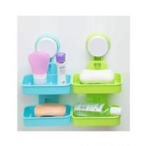Easy Shop Plastic Double Soap Dish