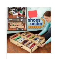 Easy Shop Shoes Organizer for 12 Pairs of Shoes