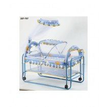 Easy Shop Steel Baby Rocking Cradle with Wheel (0175)
