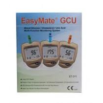EasyMate Glucose Cholesterol Uric Acid Monotoring System