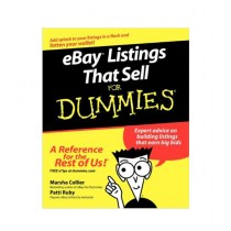 eBay Listings That Sell For Dummies Book 1st Edition