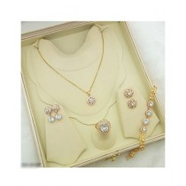Effy Collections Gold Plated Jewellery Set (DC-137)