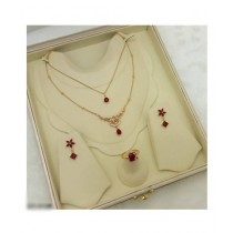 Effy Collections Gold Plated Jewellery Set (DC-140)