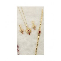 Effy Collections Gold Plated Jewellery Set (DC-168)