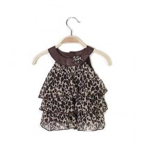 Eizy Buy Baby Girl Leopard Dress For One Year