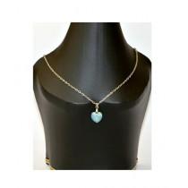 Element Jeans Opal Swarovski XILION Heart Pendant Crystal (EJ-XILION)