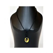 Element Jeans Swarovski Circle Pendant Necklace Crystal (EJ-CIRCLE)