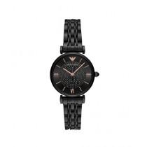 Emporio Armani Gianni T-Bar Women's Watch Black (AR11245)