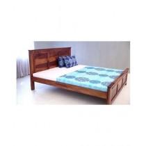 EShop Adolph Sheesham Wood King Size Bed