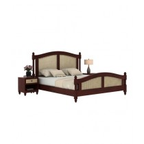 EShop Palm Sheesham Wood Double Bed