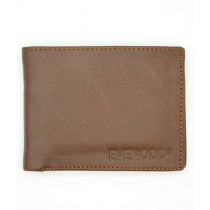 Evenodd Plain Leather Wallet For Men Camel (MAW18050)