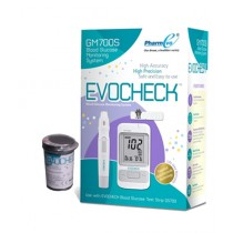 Evocheck Blood Glucose Monitoring System (Gm700s) With 25 Free Strips