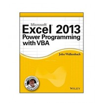 Excel 2013 Power Programming with VBA Book 1st Edition