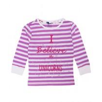 Expostore T-Shirt For Girls (C-2-30)