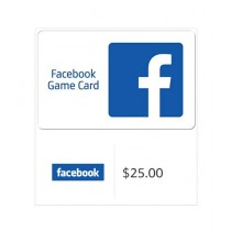 Facebook Gift Card $25 - Email Delivery
