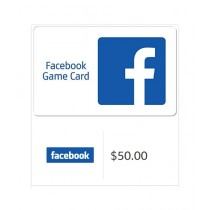 Facebook Gift Card $50 - Email Delivery