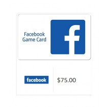 Facebook Gift Card $75 - Email Delivery