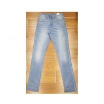 Faiz & Sons Stretch Denim Jeans For Women - Light Blue (FL-03)