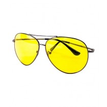Fanci Mall Aviator Sunglasess For Men Yellow (MS015)