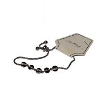 Fanci Mall Circle Bracelet For Women Silver (BR041)