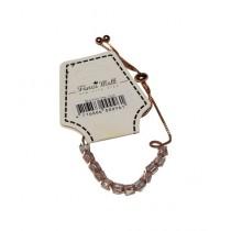 Fanci Mall Crystal Bracelet For Women Golden (BR035)