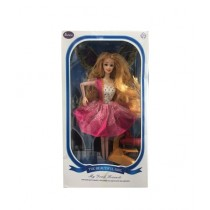 Fanci Mall Doll With Dryer Toys For Girls Pink (TY005-3)