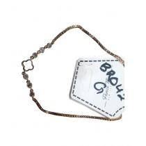 Fanci Mall Flower Bracelet For Women Black (BR042)