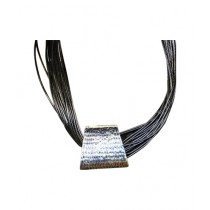 Fanci Mall Metal Necklace Silver (NL010)