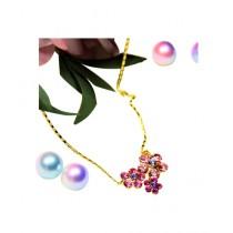 Fanci Mall Necklace Daisy Pink (NL008)