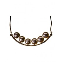 Fanci Mall Necklace Pearl Golden (NL001)