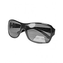 Fanci Mall Rectangular Sunglasses For Women Black (WS014)