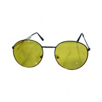 Fanci Mall Round Sunglasses For Women Yellow (WS011)