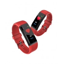 Fanci Mall Smart Band And Fitness Tracker Red (FT001)