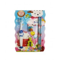 Fanci Mall Tooth Brush Set With Pencils (B-19-3)