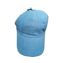 Fanci Mall Unisex Cap Light Blue Denim (HT001)
