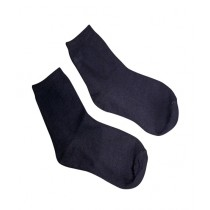 Fanci Mall Winter Warm Cotton Socks - Black