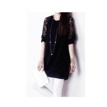 Fashion Style Net Tops For Women Black (0006)